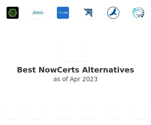 Best NowCerts Alternatives