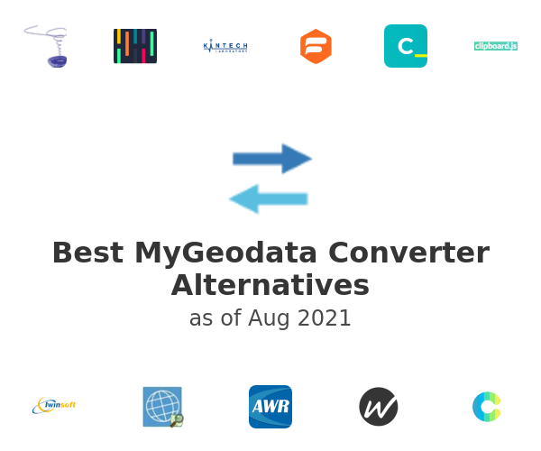 Best MyGeodata Converter Alternatives