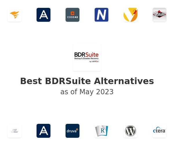 Best Vembu BDR Suite Alternatives