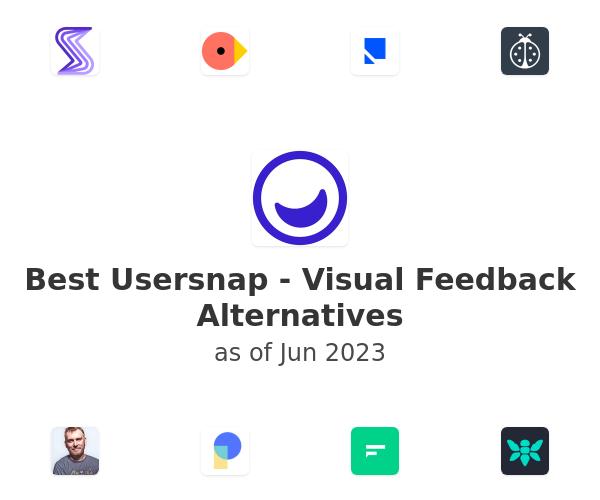 Best Usersnap - Visual Feedback Alternatives