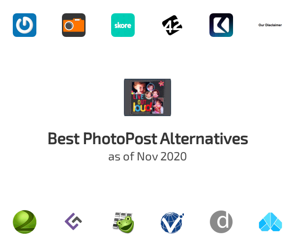 Best PhotoPost Alternatives