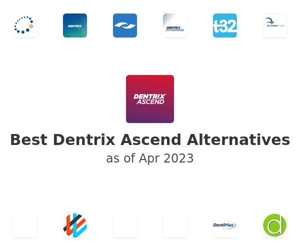 Best Dentrix Ascend Alternatives