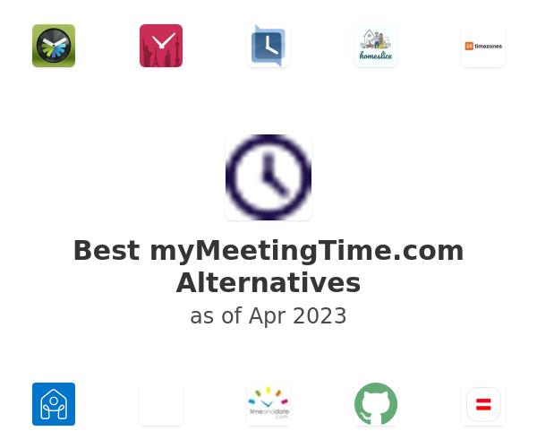 Best myMeetingTime.com Alternatives
