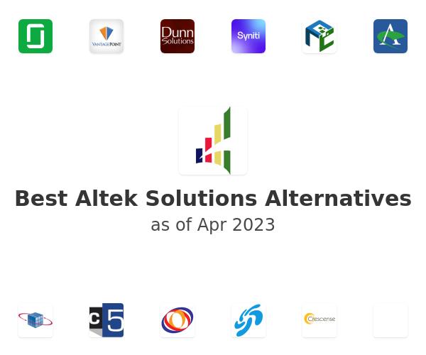 Best Altek Solutions Alternatives
