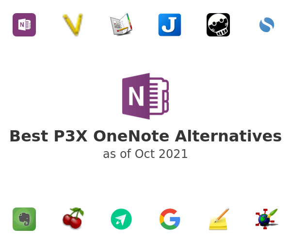 Best P3X OneNote Alternatives