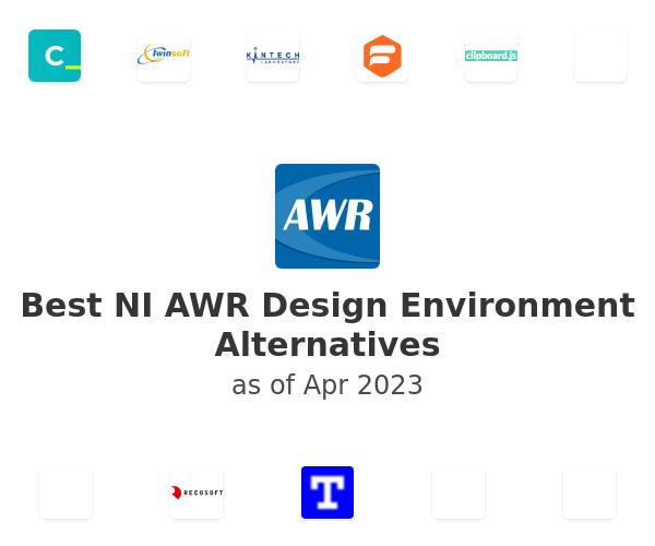 Best NI AWR Design Environment Alternatives