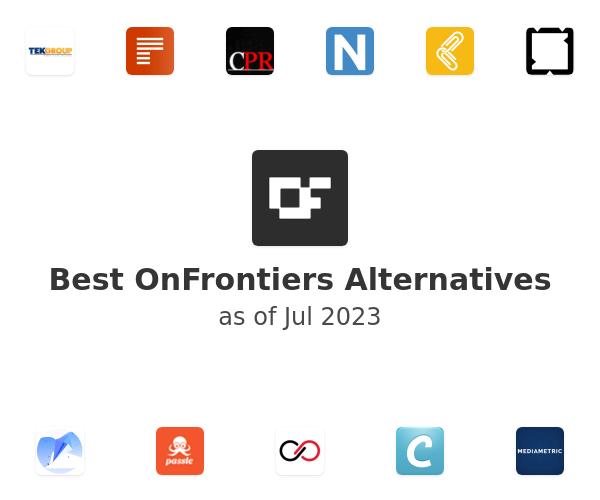 Best OnFrontiers Alternatives