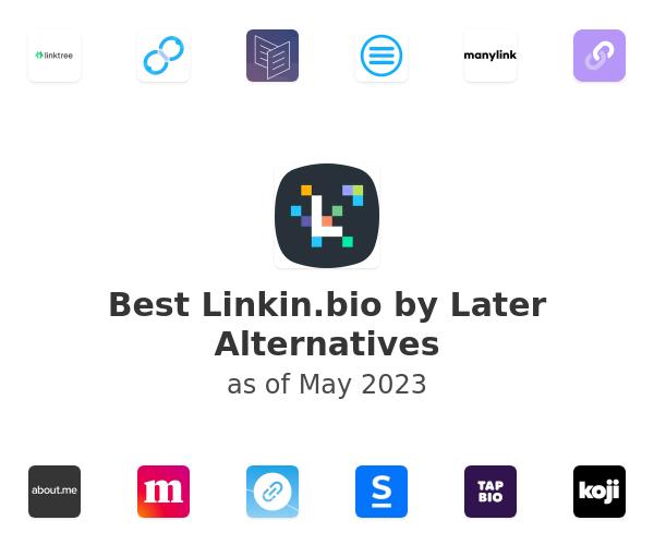 Best Linkin.bio by Later Alternatives