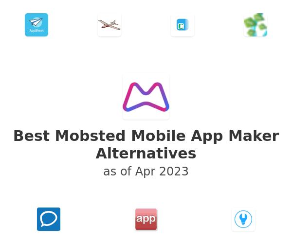 Best Mobsted Mobile App Maker Alternatives