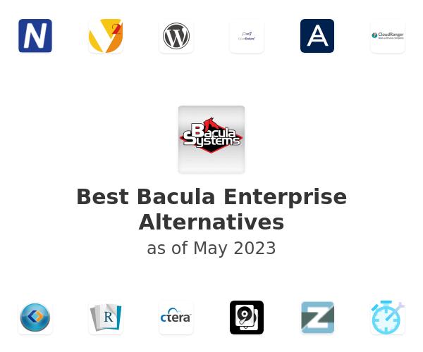 Best Bacula Enterprise Alternatives