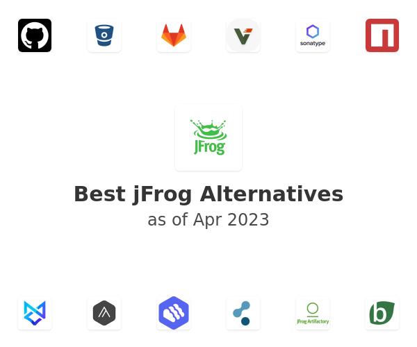 Best jFrog Alternatives