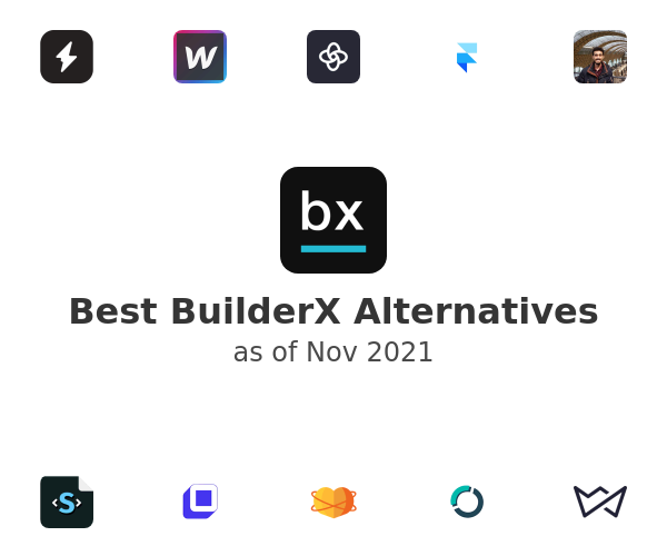 Best BuilderX Alternatives