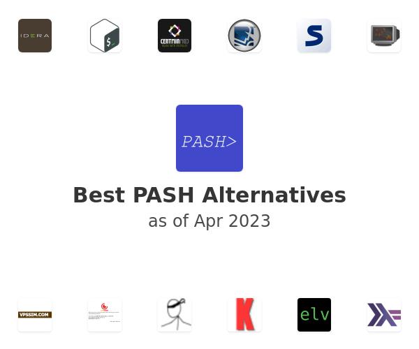 Best PASH Alternatives