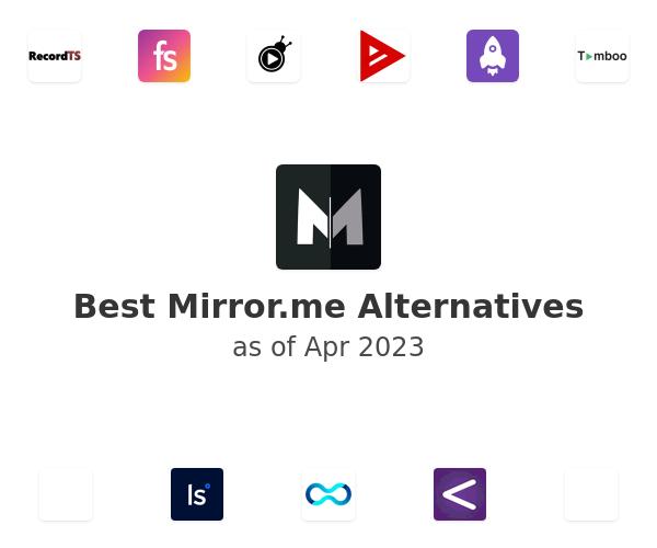 Best Mirror.me Alternatives