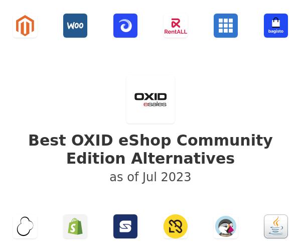 Best OXID eShop Community Edition Alternatives