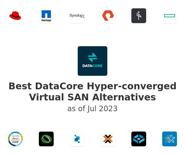Best DataCore Hyper-converged Virtual SAN Alternatives