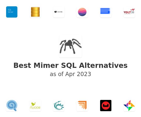Best Mimer SQL Alternatives