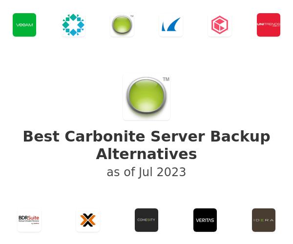 Best Carbonite Server Backup Alternatives