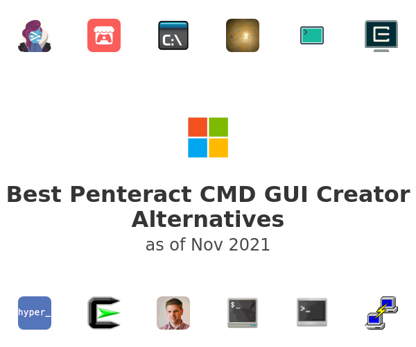 Best Penteract CMD GUI Creator Alternatives