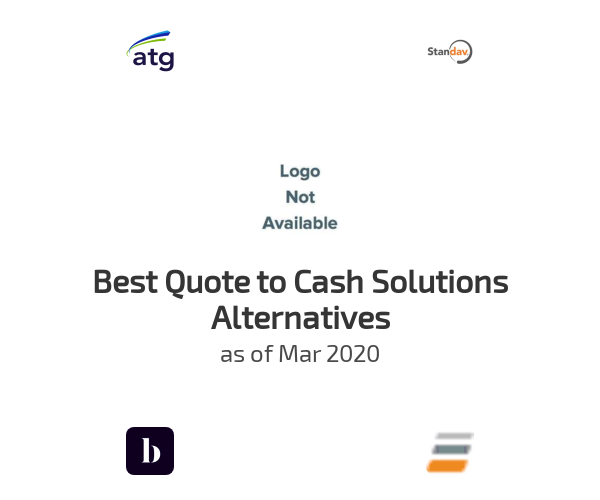 Best Quote to Cash Solutions Alternatives