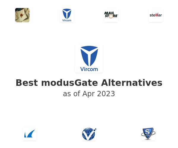 Best modusGate Alternatives