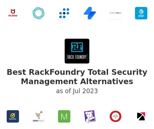 Best RackFoundry Total Security Management Alternatives