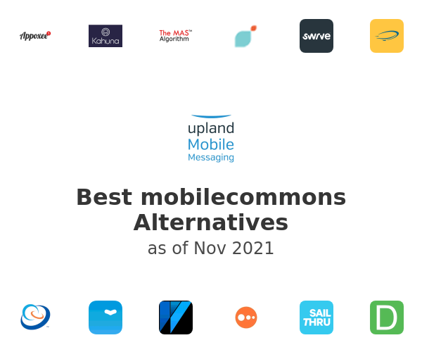 Best mobilecommons Alternatives
