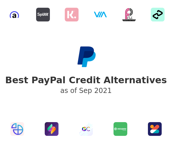 Best PayPal Credit Alternatives