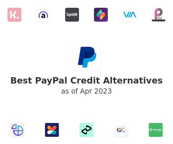 Best PayPal Credit Alternatives