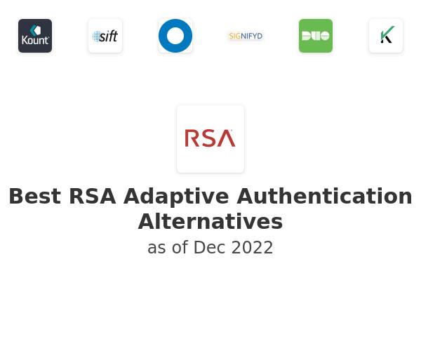 Best RSA Adaptive Authentication Alternatives