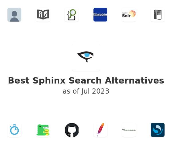 Best Sphinx Search Alternatives