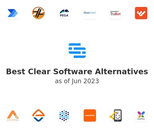 Best Clear Software Alternatives