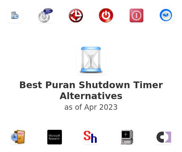 Best Puran Shutdown Timer Alternatives