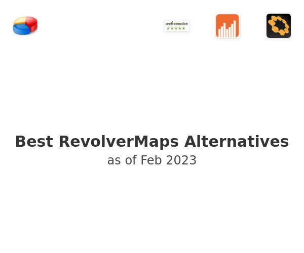 Best RevolverMaps Alternatives
