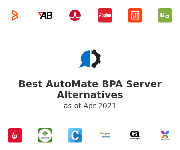 Best AutoMate BPA Server Alternatives