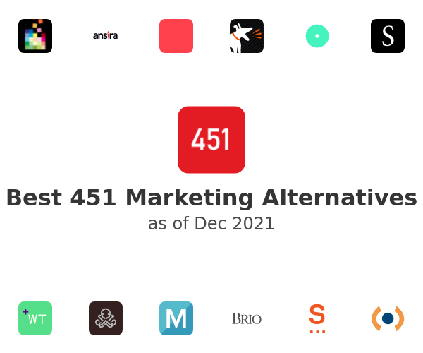 Best 451 Marketing Alternatives