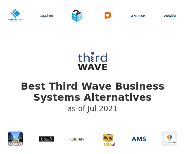 Best Third Wave Business Systems Alternatives