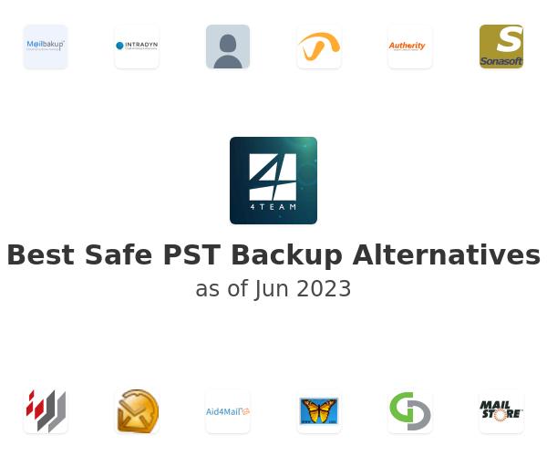 Best Safe PST Backup Alternatives