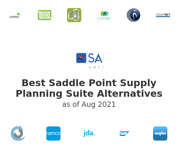 Best Saddle Point Supply Planning Suite Alternatives