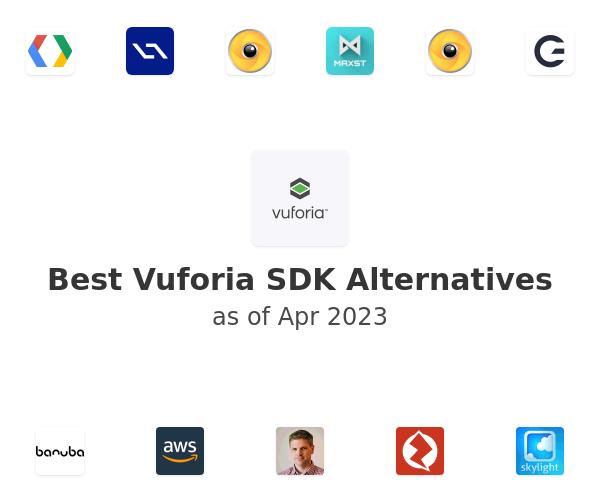 Best Vuforia SDK Alternatives