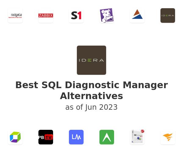 Best SQL Diagnostic Manager Alternatives