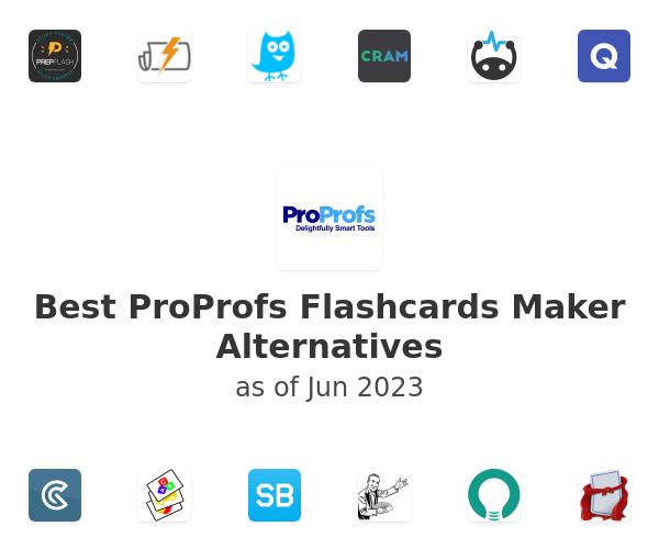 Best ProProfs Flashcards Maker Alternatives