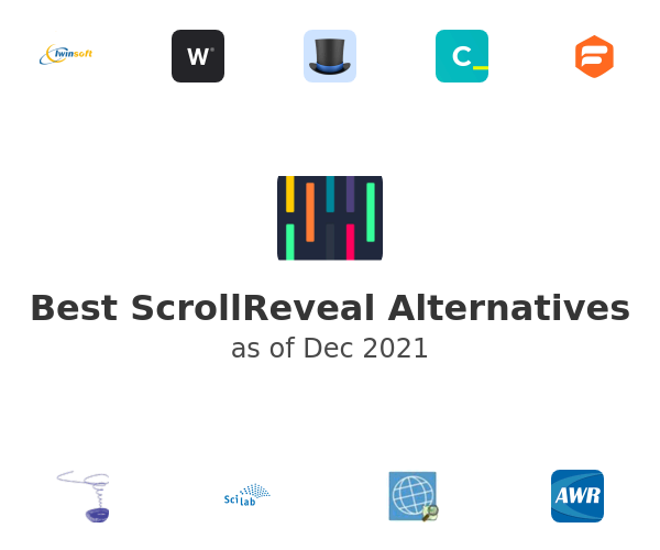 Best ScrollReveal Alternatives