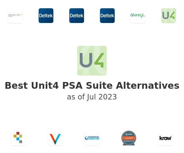 Best Unit4 PSA Suite Alternatives