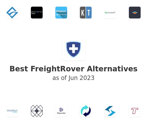 Best FreightRover Alternatives