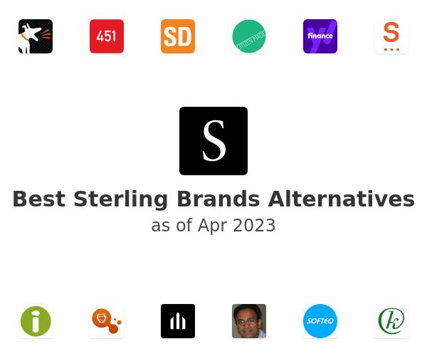 Best Sterling Brands Alternatives