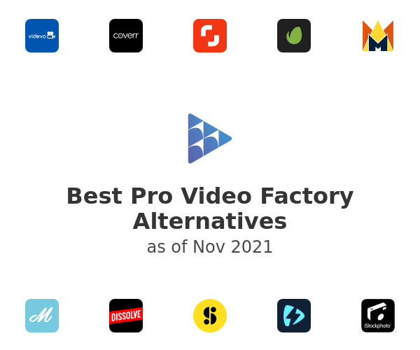 Best Pro Video Factory Alternatives