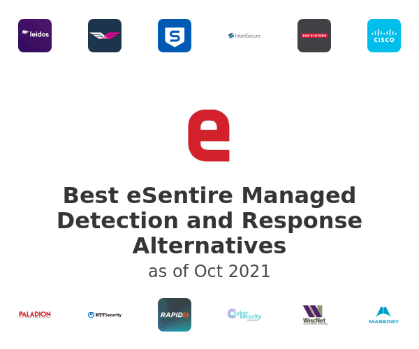 Best eSentire Managed Detection and Response Alternatives
