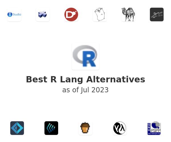 Best R Lang Alternatives