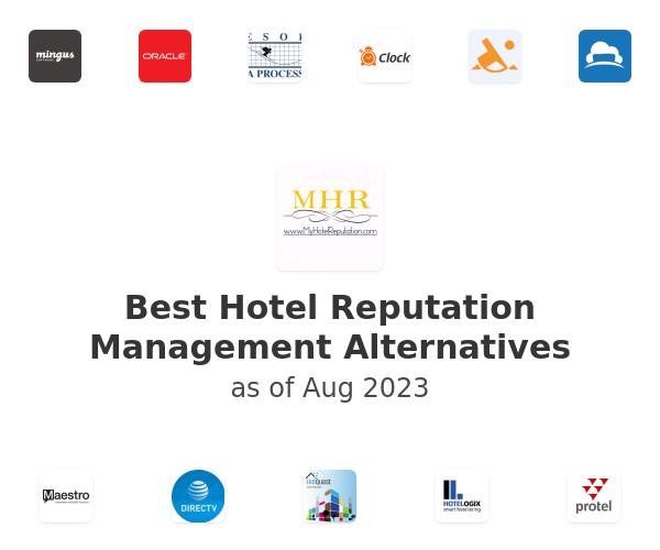 Best Hotel Reputation Management Alternatives